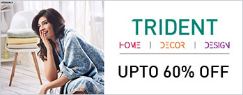 Upto 60% OFF on Trident Bed and Bath Linen