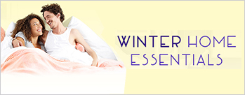 Winter Home Essentials  - Blankets, Home Needs and Appliances