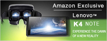 Amazon Exclusive - Register for Lenovo K4 Note at Rs 11998 + Upto 12% Cashback