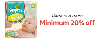 The Big Billion Day Sale - Minimum 20% OFF on Diapers & more