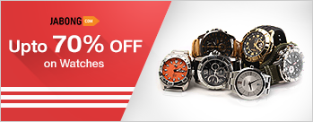 Upto 70% OFF on Watches & Sunglasses + Upto 60% OFF Jeans