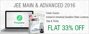 Flat 33% OFF on Plancess Crash Course for JEE Main and Advanced 2016 by Top 100 IIT JEE Rankers - Pen drive