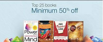 amazon offers on Books
