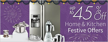 Upto 45% OFF on Home and Kitchen Appliances