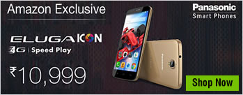 Panasonic Eluga Icon at Rs 12390 Only