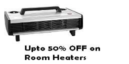 Room Heaters offer at Amazon
