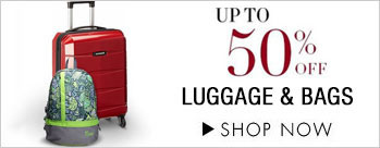 Upto 50% OFF on Luggage & Bags
