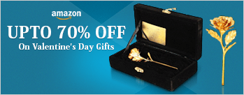 Upto 70% OFF on Valentine Gifts