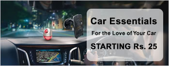 Car Essentials Starting at Rs.25