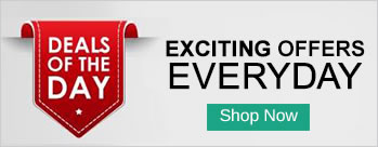 Deals Of The Day on Electronics, Home & Living and Fashion