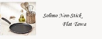 Flat 47% OFF on Solimo Non-Stick Flat Tawa at Amazon