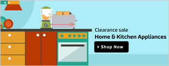 Clearance Sale - Home and Kitchen Appliances