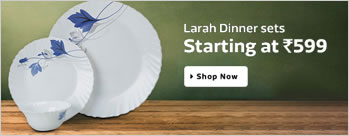 Upto 50% OFF Larah Dinner Set