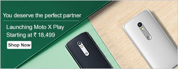 Moto X Play (16GB) at Rs 18499 Only