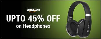 Upto 45% OFF on Headphones