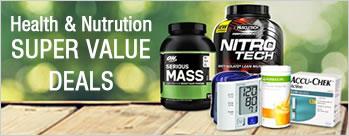 Super Value Deals - Upto 50% on health & Nutrition