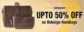 Upto 50% OFF on Hidesign Handbags