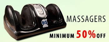 Flat 50% OFF on Massagers