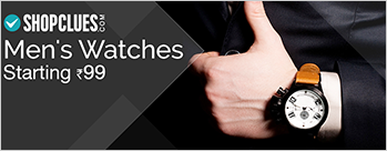 Upto 80% OFF on Jewellery & Watches + Extra 0.5% Cashback