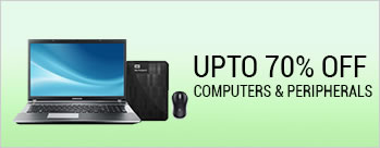 Festive Season Sale - Upto 70% OFF on Computer and Peripherals