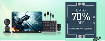 Upto 70% OFF on Computer Accessories