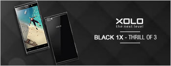 XOLO BLACK 1X at Rs 9999 Only