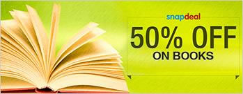 Upto 50% OFF on Books