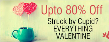 Struck by Cupid - Upto 80% OFF on Gifts