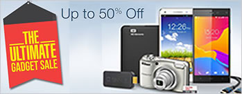The Ultimate Gadget Sale - Upto  50% OFF