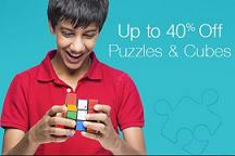 Upto 40% Off Puzzles & Cubes at Amazon
