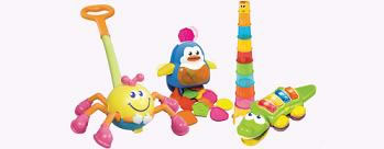 Upto 40% OFF on Rattles & Infant Toys