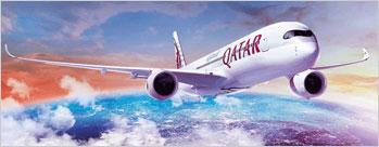 Book an International Flight ex India to USA or Europe on Qatar Airways