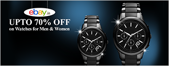 Upto 50% OFF on Watches for Men & Women + Extra 5% Cashback (New User)