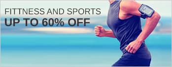 Upto 60% OFF on Fitness & Sports + Extra 3.5% Cashback (New User)