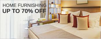 Upto 70% OFF on Home Furnishing + Extra 3.5% Cashback (New User)