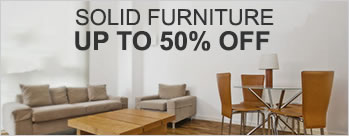 Upto 50% OFF on Solid Furniture + Extra 3.5% Cashback (New User)