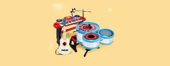 Upto 50% OFF on Musical Toys