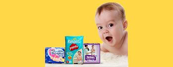 Upto 50% OFF on Diapers