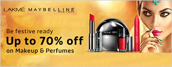 Upto 70% OFF on Make-Up & Perfumes