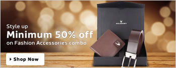 Minimum 50% OFF on Fashion Accessories
