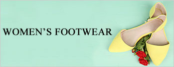 Minimum 50% OFF on Women's Footwear
