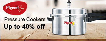 Upto 40% OFF on Pressure Cookers & Pans