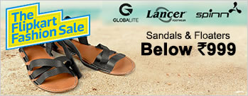 Sandals & Floaters All Below Rs 999