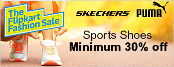 Minimum 30% OFF on Sports Shoes