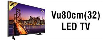 Buy Vu 80cm (32) LED TV at Rs 13989