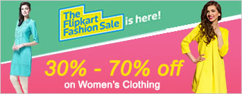 Minimum 30% to 70% OFF on Womens Clothing