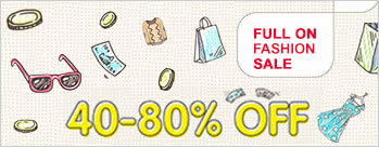 Full On Fashion Sale - Upto 40% to 80% OFF on Womens, Mens, Kids Apparels