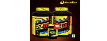 MuscleBlaze Mass Gainers XXL