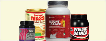 Upto 25% OFF on Weight Gainers + Extra 2% Cashback
