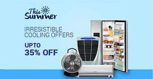Air Conditioner, Air Cooler, Fans & Refrigerator